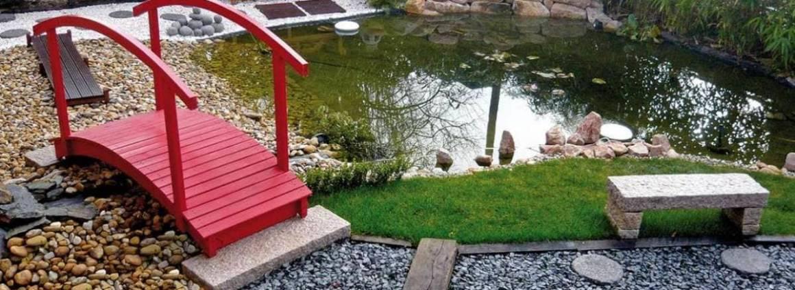 Jardin esprit japonais. Réalisation AquaScène (Soucieu en Jarrest)
