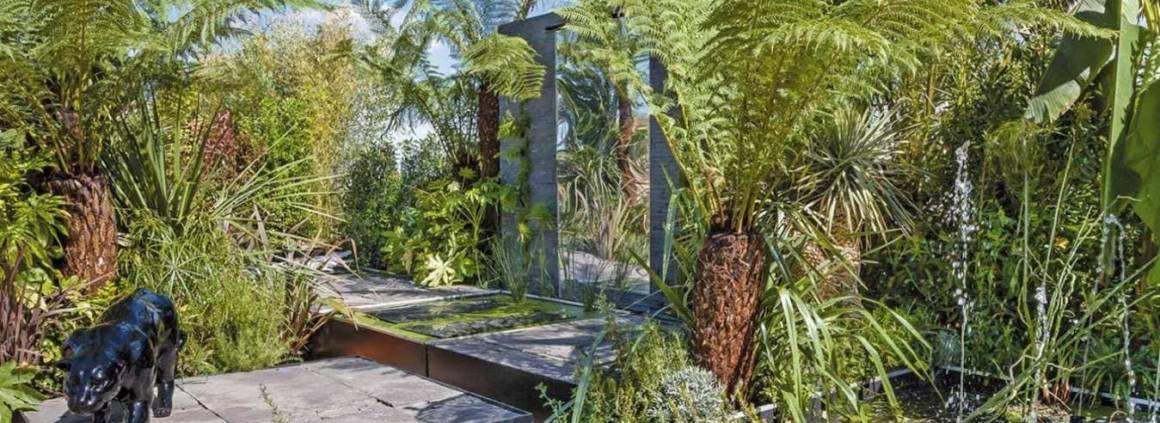Réalisation Decolux Garden, lauréat du concours paysager édition 2014, Jardins en Seine - catégorie Paysagistes Professionnels. Photographe Sophie Lloyd.