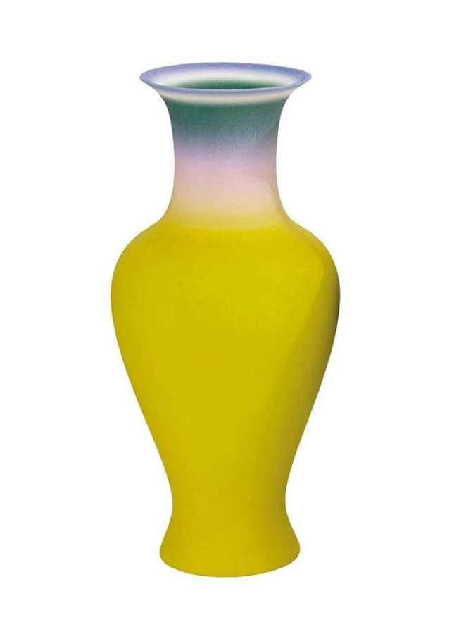 Ce vase chinois traditionnel est une fusion de quatre familles de vases du 17ème et du 18ème siècle. Il a été conçu via une technique 3D imprimée sur le vase. ©Droog