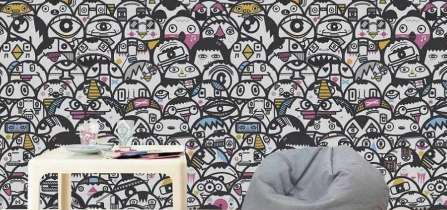 La toute nouvelle collection de papiers peints New Wave de chez Graham & Brown démontre avec brio la créativité britannique en terme de motifs. Le papier peint Paradisi d'après un dessin détaillé, en partie inspiré par le mouvement Arts & Crafts et ses motifs exotiques en est la parfaite illustration. ©Graham & Brown