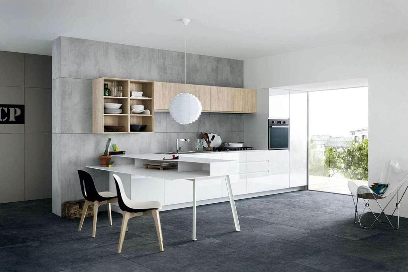 la cuisine fait son show. Black Bedroom Furniture Sets. Home Design Ideas