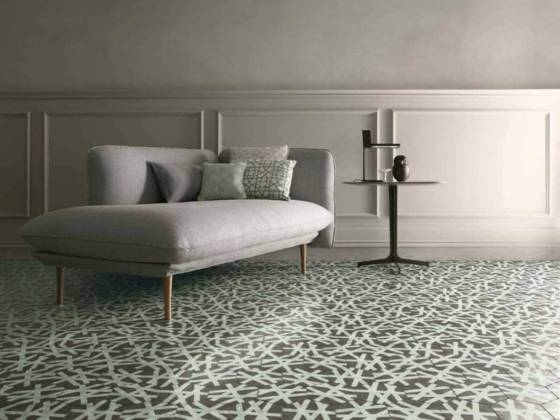 Contemporary Ciment Tiles - Collection Navone. Carreaux Wire Shadow. ©Bisazza