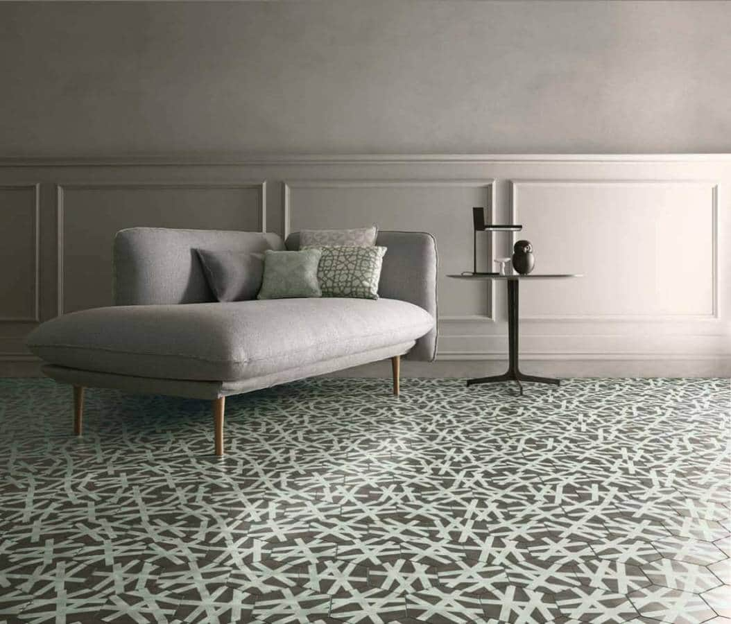carreaux de ciment by bisazza. Black Bedroom Furniture Sets. Home Design Ideas