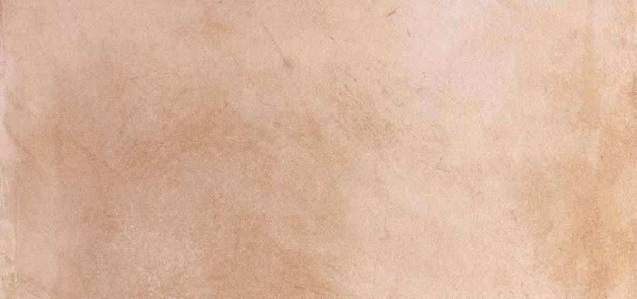 Grès cérame émaillé masse colorée Cottocemento. Modèle Rosso. 45 x 45 cm. ©Cérabati