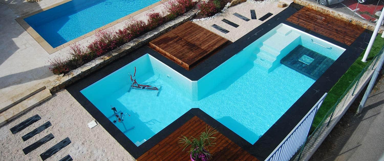 Paradis aquatique for Concept piscine