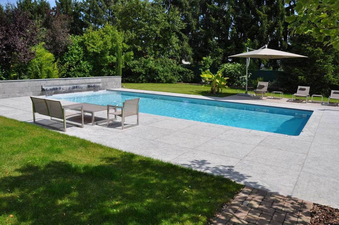 Paradis aquatique for Piscine exterieur
