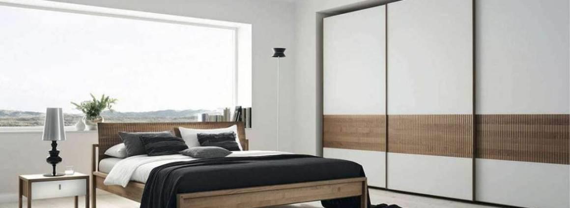 Lit Valore, avec cadre de lit barreaux horizontaux ou tête en cuir. ©Team7