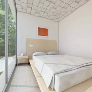 Panneaux plafond ou muraux Cubisme créant des effets visuels en relief. ©Soundtect