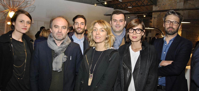 De gauche à droite : Jennifer Julien (numéro 111), Éric Jourdan, Grégory Peyrache (numéro 111), Sophie Françon (numéro 111), Rémi Bouhaniche, Philippine Lemaire, Noé Duchauffour Lawrance.