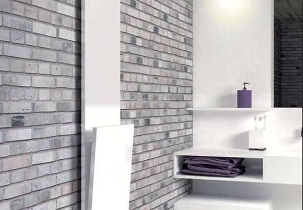 Un sèche-serviettes Slim aux lignes plus graphiques et décomposées, pour dynamiser l'espace. Un pouvoir calorifique élevé de 600 à 900 watt. Différentes finitions couleurs possibles. ©Brem