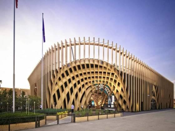 Bâtiment Pavillon France