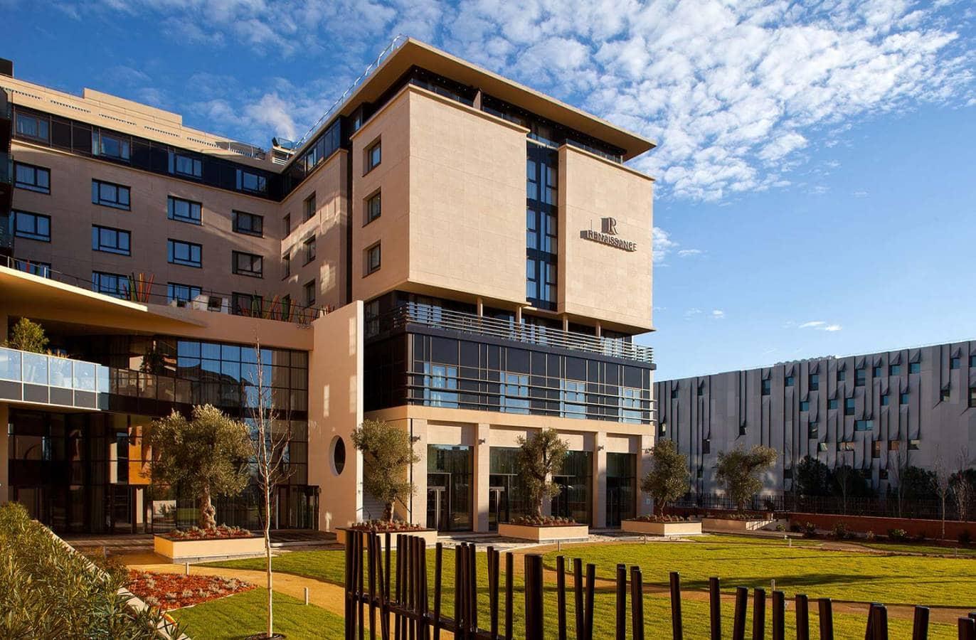H tel renaissance aix en provence for Hotel design provence