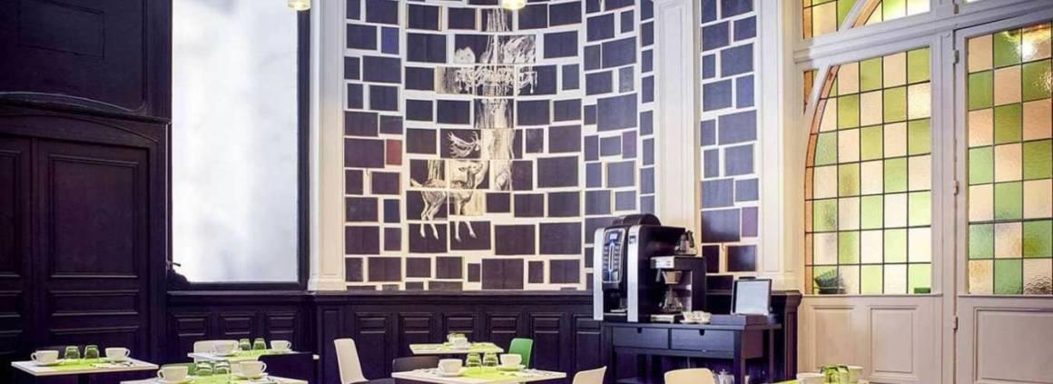 Grand Hôtel du Midi - Montpellier - Salle petit déjeuner - Décoratrice Julie Gauthron