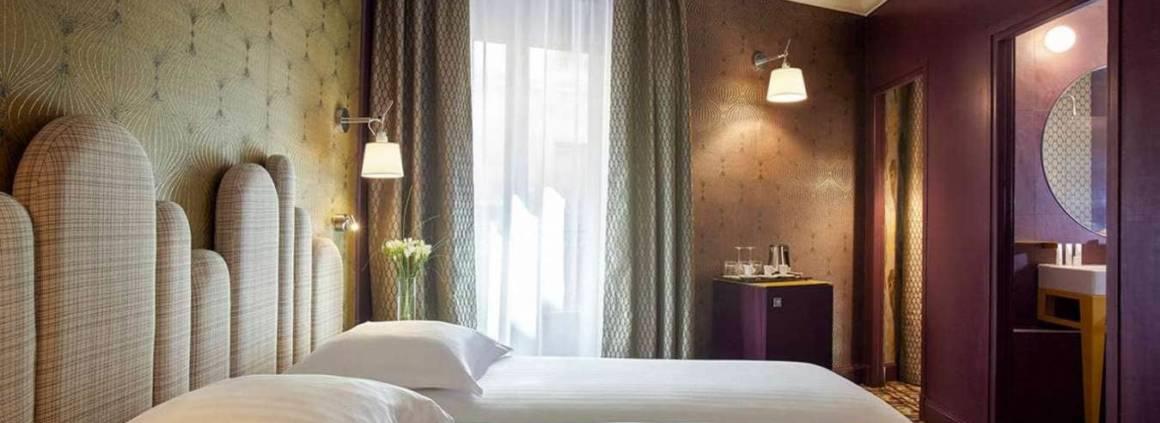 Grand Hôtel du Midi - Montpellier - Chambre Triple - Décoratrice Julie Gauthron