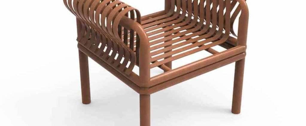 Cheng-Tsung Feng, Queen - Les artisans taïwanés ont montré leur savoir-faire, fortement représentés sur le salon. Cette chaise est le fruit d'une alliance avec une marque de laque française. Bluffante, quand on sait qu'elle est en bambou laqué. ©Cheng-Tsung Feng