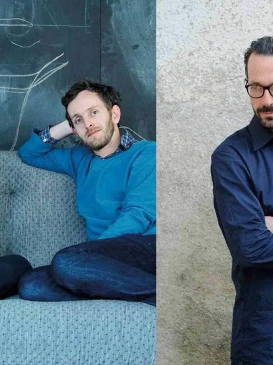 Portrait Erwan, Ronan Bouroullec et Konstantin Grcic - ©Mutina
