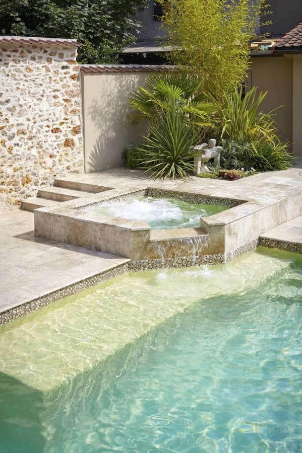 Piscine et spa 2016 living pool for Piscine spa integre