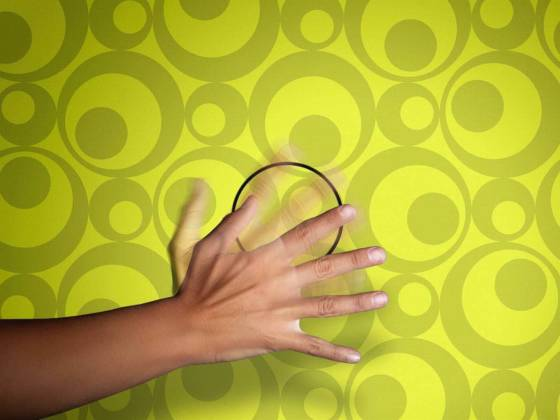 Interrupteur Mysterious invisible, commande par mouvement à une distance de 50 cm.