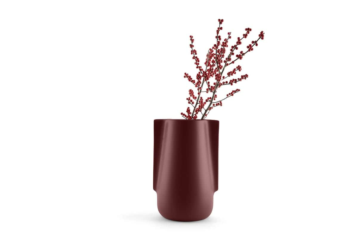 Incipit - Moai - Vase en terre cuite décliné en deux tailles et inspiré des statuts de l'Île de Pâques. Design Raul Frollà. ©Incipit