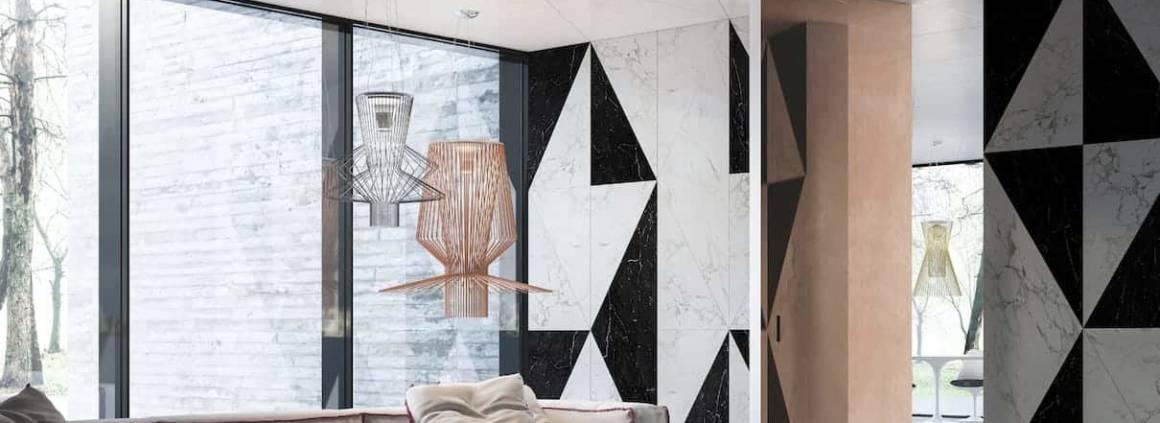 La porte pivotante Filo 10 est la première à fleur du mur, des deux côtés. Un système sophistiqué d'axes escamotables permet de la faire pivoter sur elle-même et ce, quelle que soit sa dimension et son revêtement. En effet, pour s'adapter à tous les intérieurs, elle peut revêtir du papier peint, des moulures, des boiseries ou des miroirs, avec des dimensions allant jusqu'à 120 x 300 cm, en version vantail simple ou double. ©L'invisibile