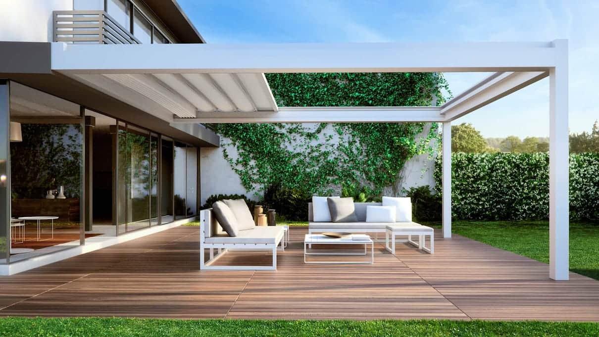 pergolas et voiles d ombrage. Black Bedroom Furniture Sets. Home Design Ideas