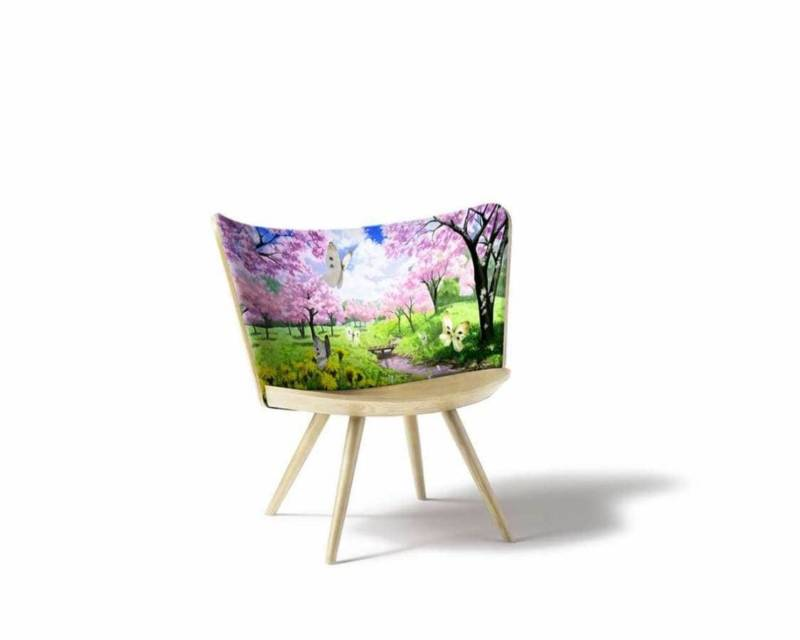 Cappellini, Embroidery Chair