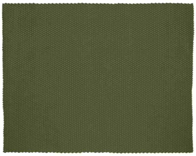 Ligne Roset, Rope – Tapis outdoor/indoor avec trame en polyester imputrescible. 200 x 250 cm. Coloris kaki.