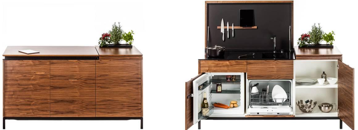 Exposition Design Matrice. Mini-cuisine équipée Maminicuisine. ©Étoile de l'Observeur du design 2017
