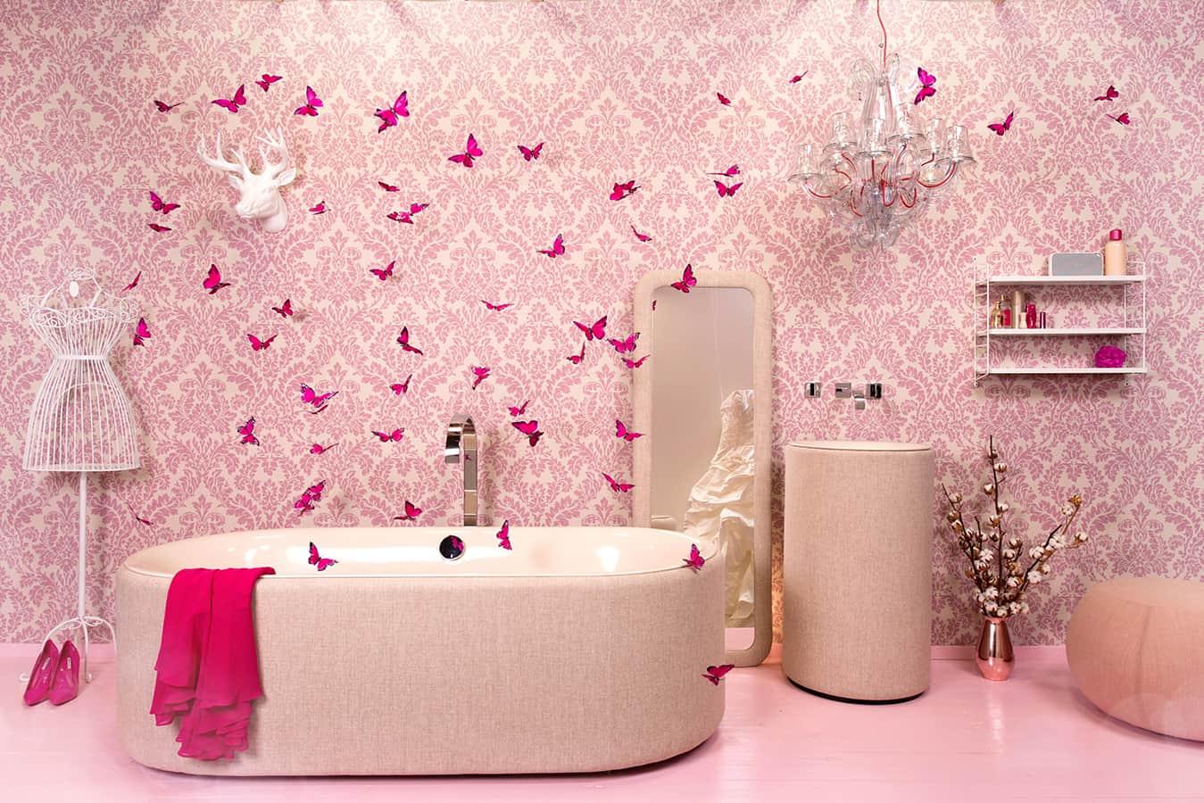 Exposition «Pop Up My Bathroom» sur le salon ISH 2017. Un forum répondant à travers huit tendances aux besoins de l'individualité et de la personnalisation au sein de la salle de bains. Univers «Fashion».