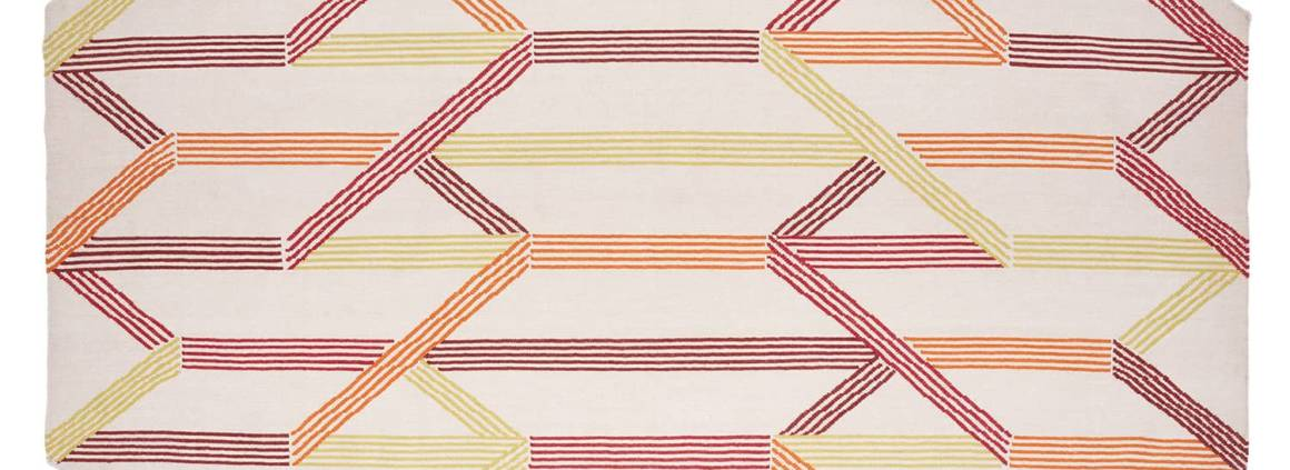 Nodus, Decorated Skin - Tapis en laine avec mèches de 3 mm d'épaisseur. Design Diego Vencato. 200 x 300 cm ou sur-mesure. ©Nodus rug