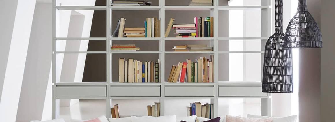 Bibliothèque Unless - Design Ferruccio Laviani. ©Pianca