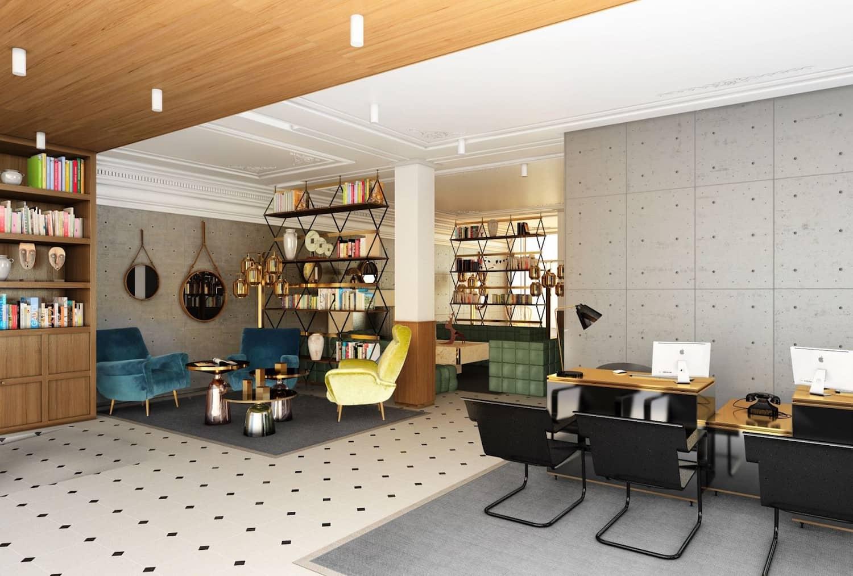 H tel parister paris domodeco for Hotel design paris 7