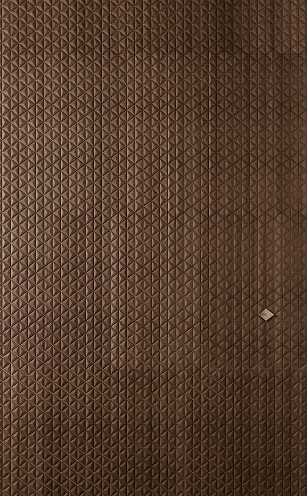Giorgetti Atmosphere, Shibori - Revêtement en bois décoratif modulaire. Dessins 3D en chêne, noyer canaletto ou bois de frêne. 5 finitions. Dimensions sur-mesure. Design Studio Giorgetti. ©Giorgetti Atmosphere