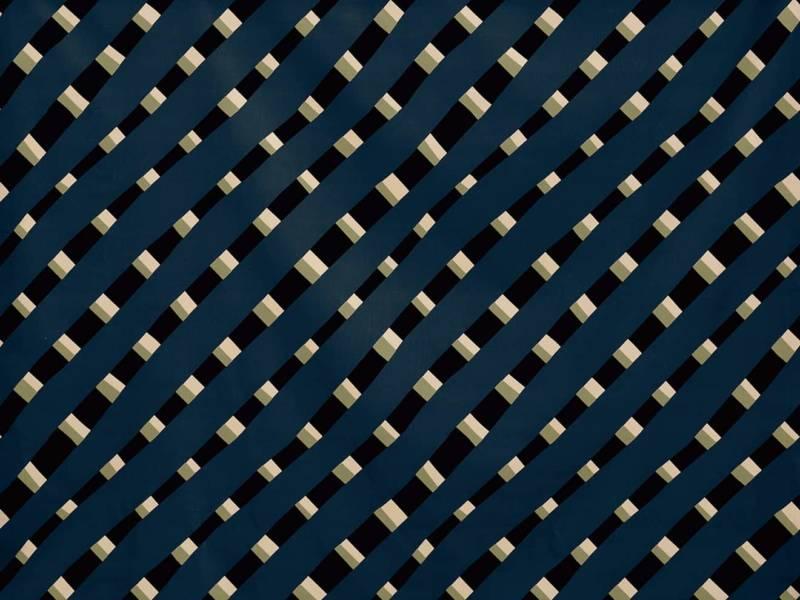 tissu coton polyester pierre frey stripes