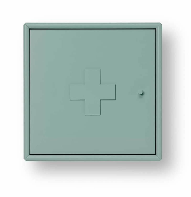 Armoire à pharmacie AID, en MDF disponible dans 42 coloris. 35,4 x P 20 cm. ©Montana