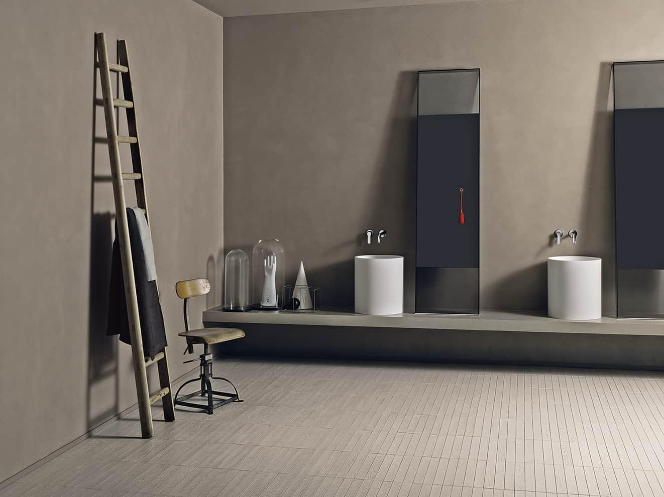 salle de bains une pluie de rev tements. Black Bedroom Furniture Sets. Home Design Ideas