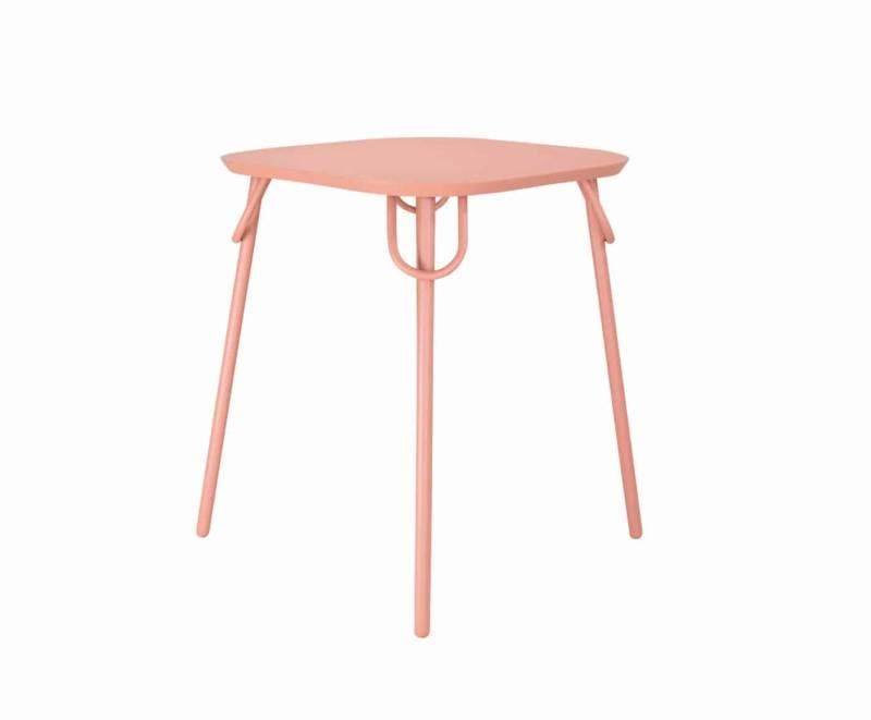 Table duo Swim, structure en métal et peinture époxy. Design Margaux Keller. ©Bibelo®