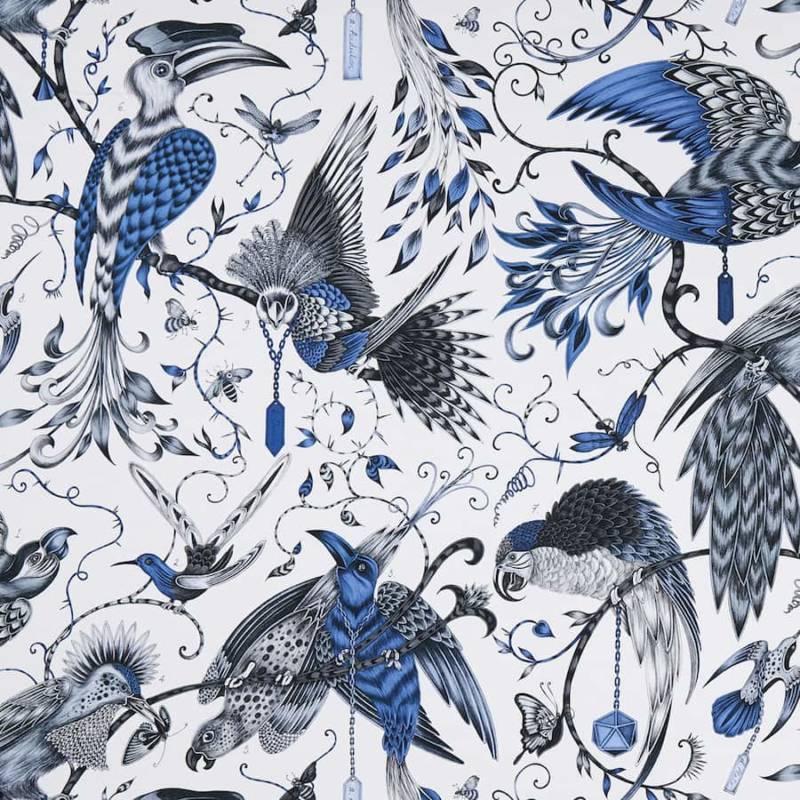 Tissu imprimé audubon clarke & clarke