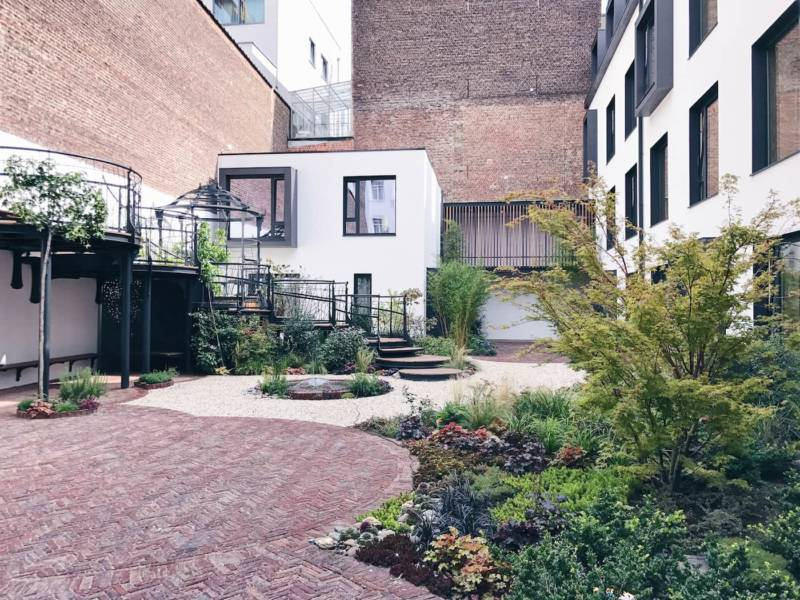 Le jardin secret ixelles