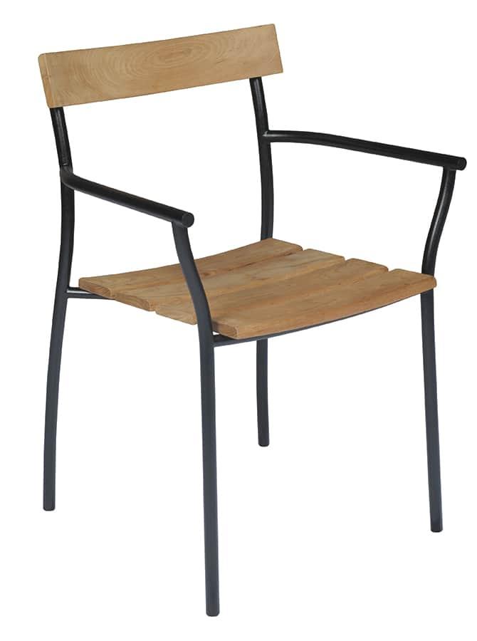 Tectona cicala fauteuil cote