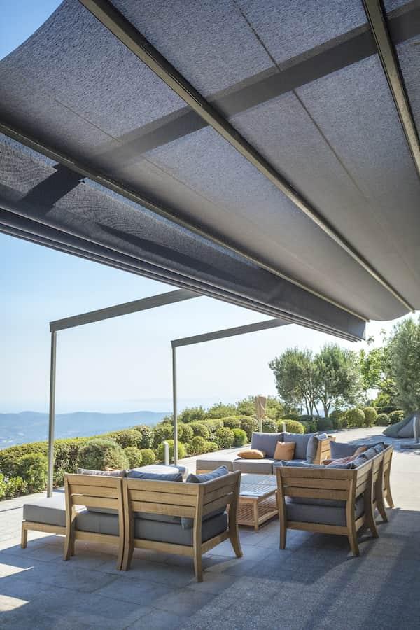Terrace in bormes les mimosas 2