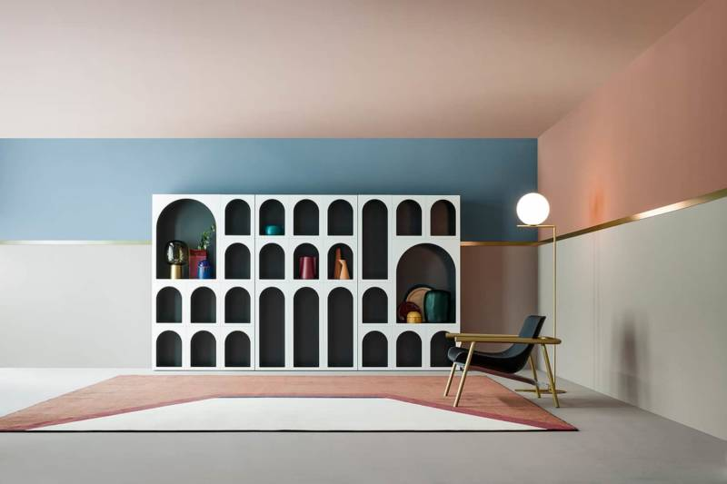 Bibliothèque « cabinet de curiosité »