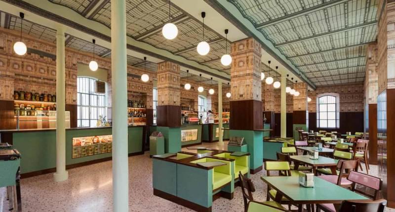 Café de la Fondation Prada – Milan – 01