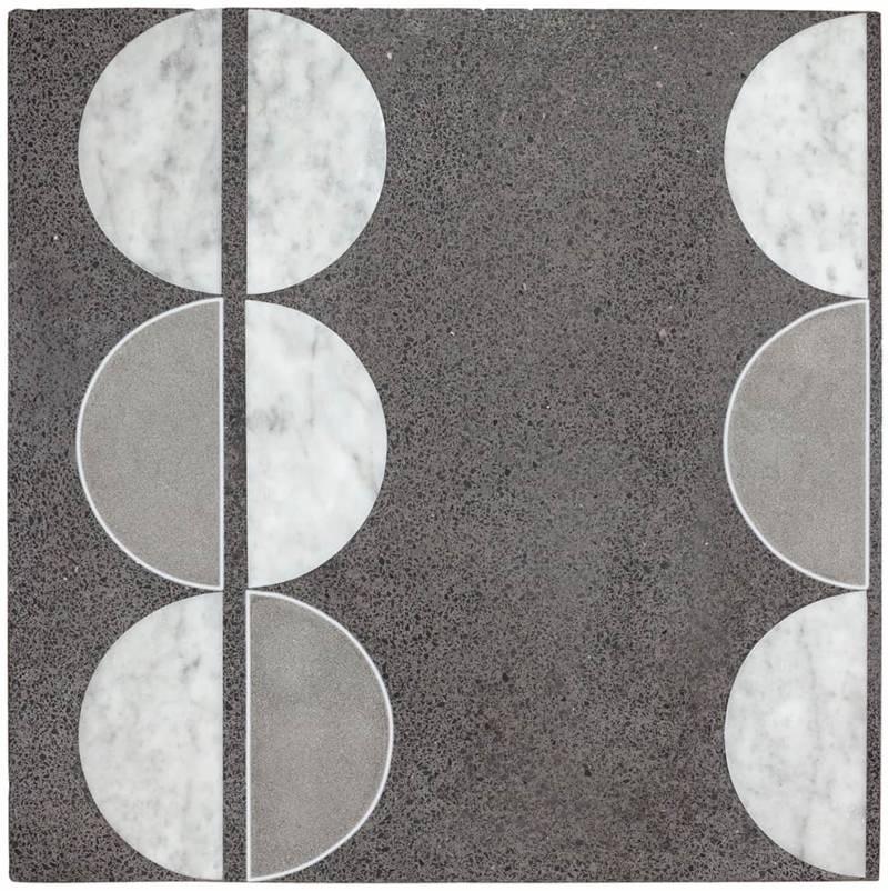 Carreau eclissi hommage à gio ponti