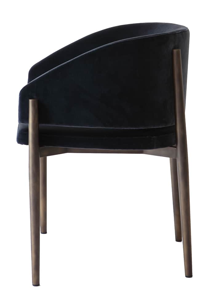 Chaise Frank, inspirée du mobilier scandinave