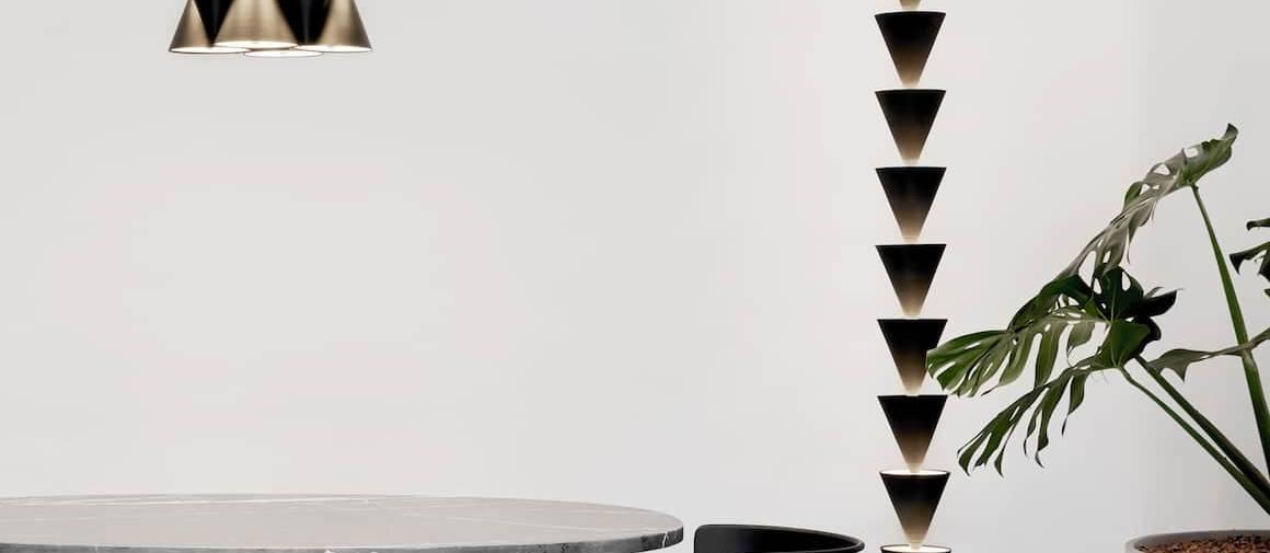 Chandelier et suspension pendentif legato