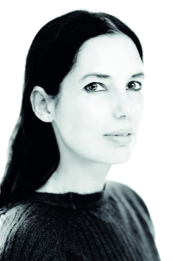 Elisa Ossino. Photo Giovanni Gastel.