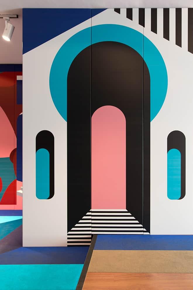 Installation immersive palazzo stamskin