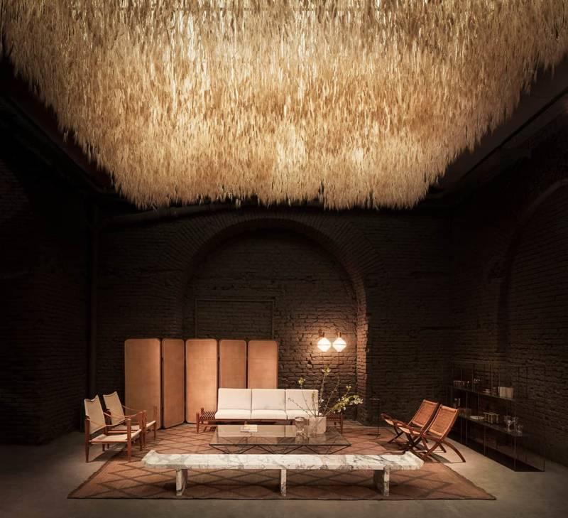 Scénographie de la Six Gallery – Salon du meuble Milan 2018