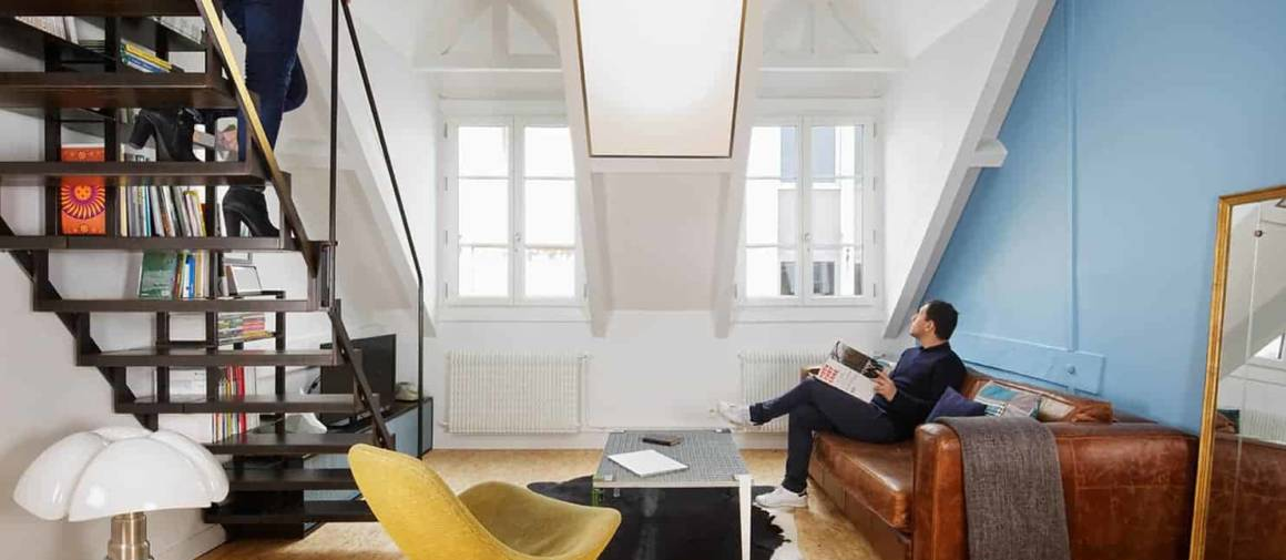 Optimisation appartement parisien par l'architecte Florent Chagny